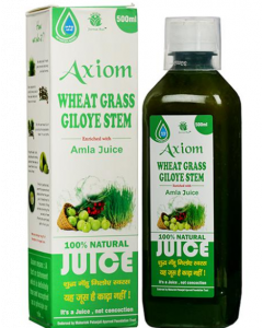 Axiom Wheat Grass Giloye Stem  Juice - 500 ml