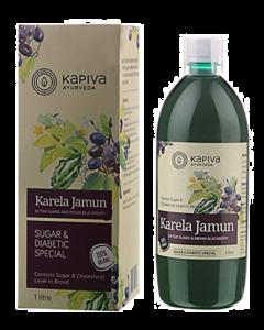Kapiva Ayurveda Karela Jamun Juice - 1 ltr