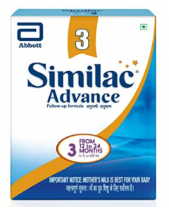 Similac Advance Stage 3 Follow Up Formula For Older Infants 400 g
