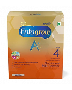 Enfagrow A+ Stage 4 Nutritional Milk Powder (2 Years And Above) Bib (Refill Pack) Vanilla 750g