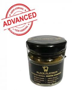 Black Platinum - Premium Herbal Tooth Powder